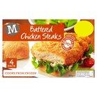 Morrisons Battered Chicken Steaks