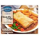 Kershaws Classic Steak Pie & Chips