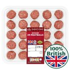 Morrisons 25 British Beef Meatballs (R)